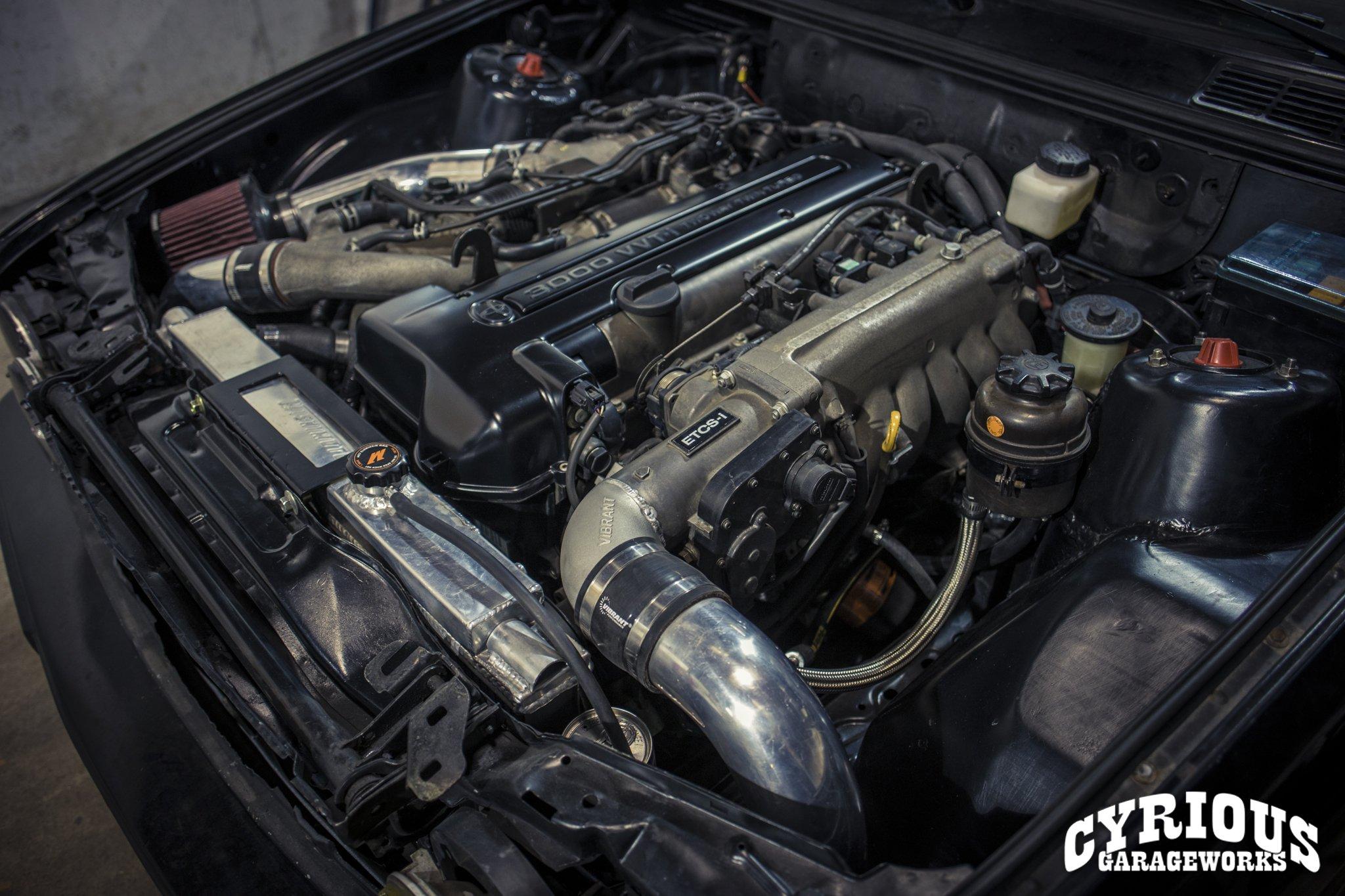 RESPECT YOUR ELDERS: BMW E30 > 2JZ Swap – Cyrious Garageworks