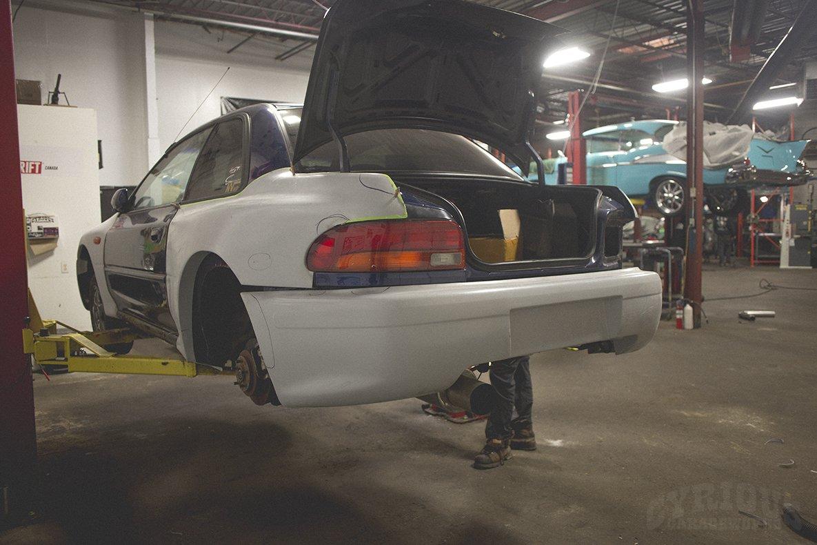 Recreating a Legend – Subaru Impreza 22B – Cyrious Garageworks