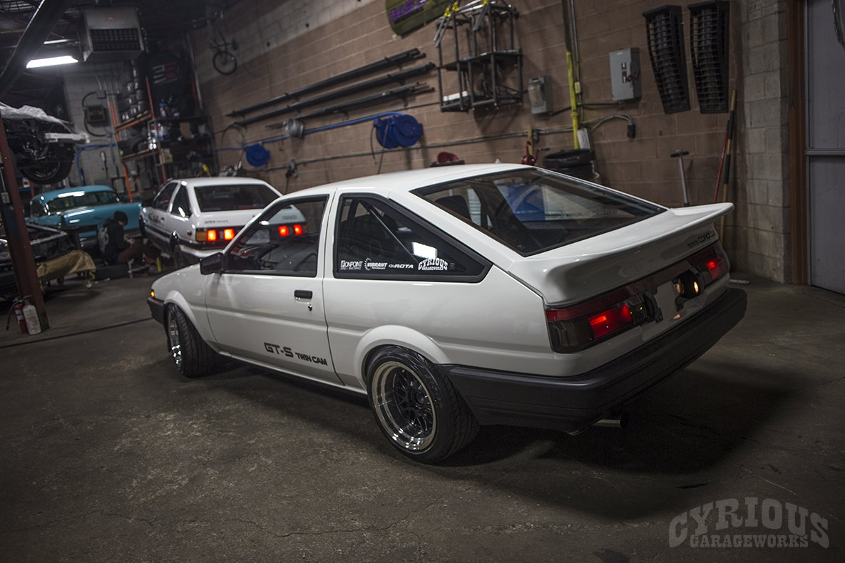 Project 86: Build A Dream AE86 In 86 Days – Cyrious Garageworks